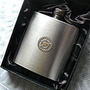 Cogs Hip Flask