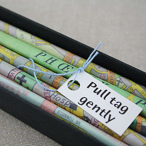 Personalised Map Of Ireland Pencils