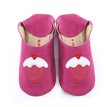 Cupcakes On Candy Shoes , Slippers