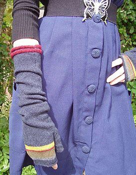 Navy Blue Mittens
