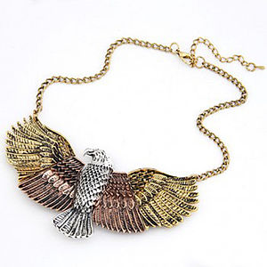 Eagle Statement Necklace - statement necklaces