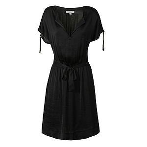 Cannie Belted Dress - the little black dress