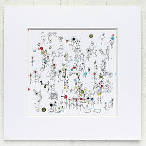 Bumbling With The Bees - children's pictures & paintings