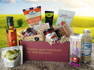 Gourmet Food And Drink Flavour Box Hamper - boxes & hampers
