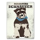 Miniature Schnauzer Dog Art Print