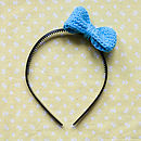 Learn To Crochet Bow Alice Band