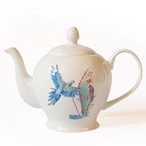 Fine Bone China Resort Tea Set Service - tableware