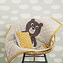 Bear Baby Quilted Blanket