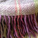 Heather Moss Merino And Cashmere Throw