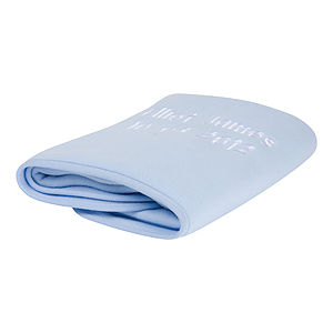Baby Blue Fleece Blanket - baby & child