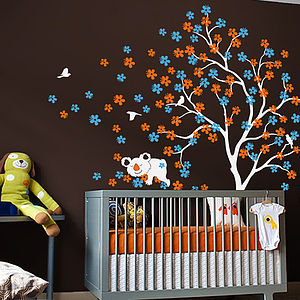 Tree With Cuddly Koala Bear Wall Sticker - home accessories