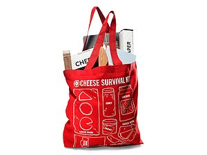 Cheese Survival Kit With Slate Cheese Board - gifts for him