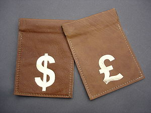 Leather Coin Pouch In Tan - purses & wallets
