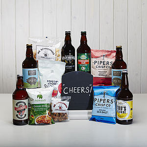 The Yorkshire Beer And Snack Hamper - gifts for foodies