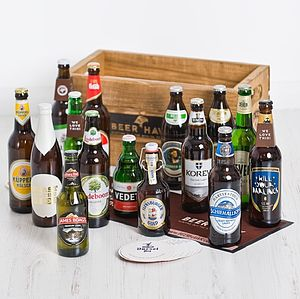 15 Award Winning World Lagers - food & drink gifts