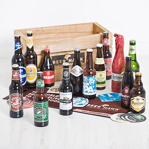15 Award Winning World Beers - wines, beers & spirits