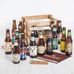 Craft American Beer Hamper - wines, beers & spirits