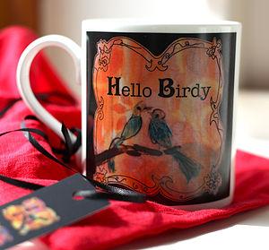 Hello Birdy Mug