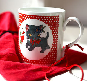 Lucky Cat Mug - home accessories