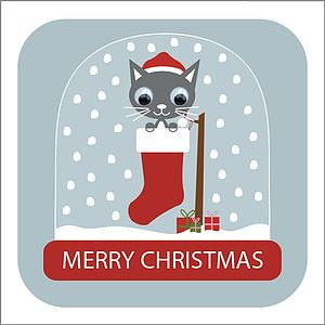 Wobbly Eyed Christmas Card Pack - christmas cards