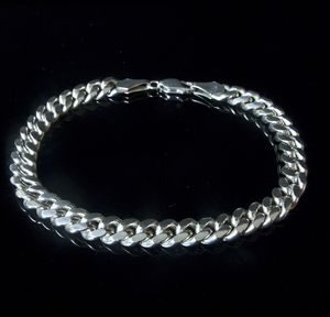 Man's Cubana Chain Bracelet - men's sale