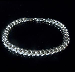 Man's Cubana Chain Bracelet