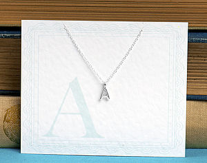 Cute Alphabet Initial Letter - necklaces & pendants