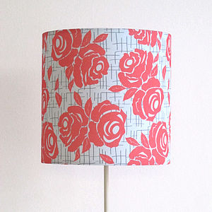 Handmade Rose Lampshade - lighting