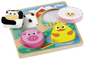 Touch And Feel Farm Puzzle - toys & games