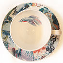 Cup and Saucer Birdseye View