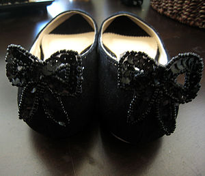 Bow Shoe Clips - women's fashion