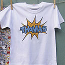 Super Bubble Personalised T Shirt