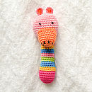 Handmade Animal Crochet Rattle