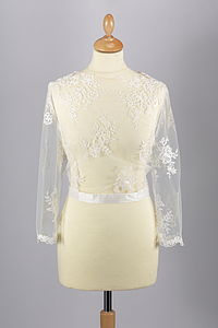 Naomi Lace Jacket - wedding fashion