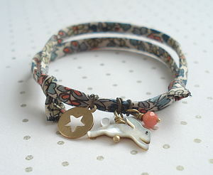 Rabbit And Star Friendship Bracelet - women's jewellery