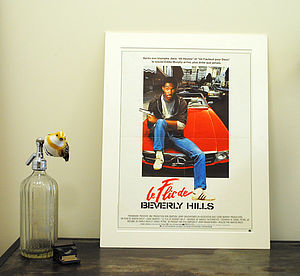 Original French Beverly Hills Cop Film Poster - film & tv