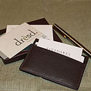 Sean: Men's Buffalo Leather Card Holder