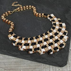 Multicolour Metal Weave Necklace - jewellery for women