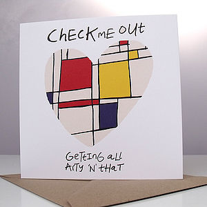 'Check Me Out' Card - summer sale
