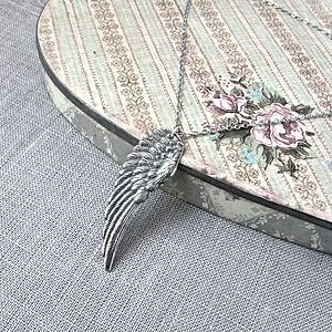 Silver Angel Wing Necklace - necklaces & pendants