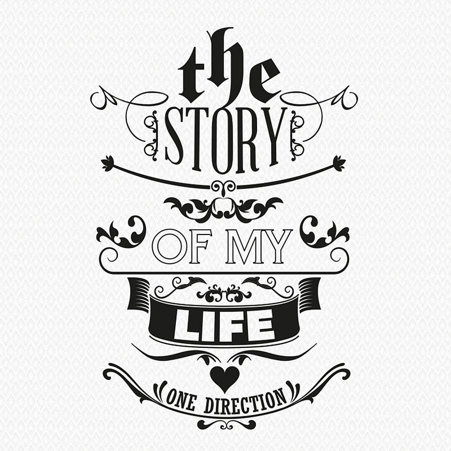 U0027The Story Of My Lifeu0027 Wall Sticker · U0027 Part 52