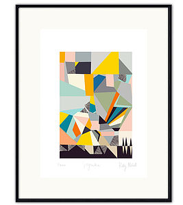 Abstract Art Print - posters & prints