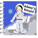 Spaceman Notebook