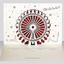 London Eye Pop Up Christmas Card