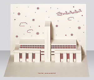 Tate Modern Pop Up Christmas Card