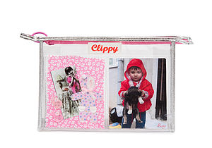 Photo Pocket Make Up Bag   Four Pockets - children's accessories