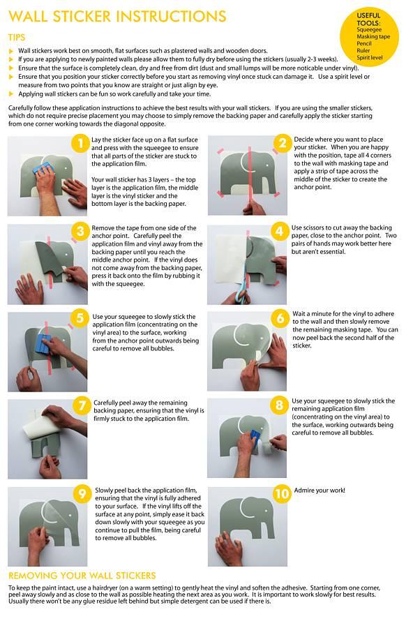 Wall Sticker Instructions Part 56