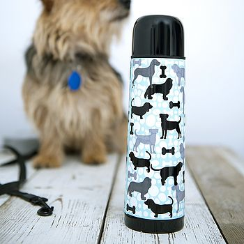 Wilber Woof Dog Flask