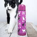 Katrina Kitty Cat Flask