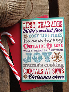 20 Typography Christmas Cards - christmas